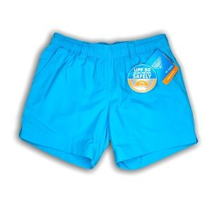 Columbia Women's Extra Small Blue Water Shorts NWT